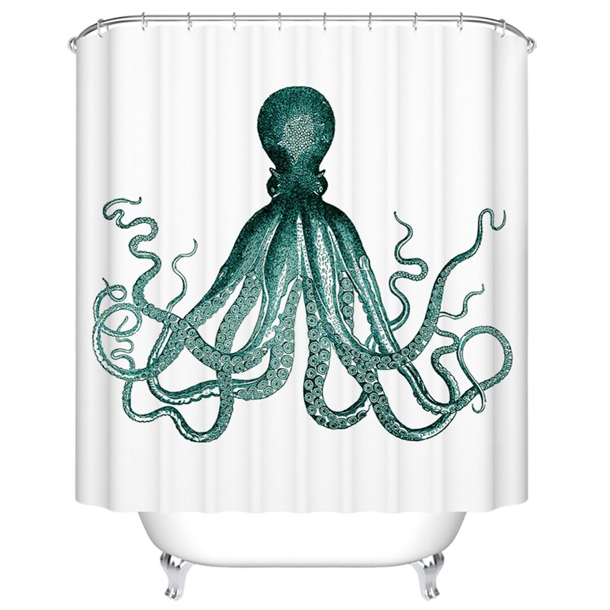 "Bathroom Waterproof Shower Curtain, 70"" W x 72"" H (DK-YT015)"