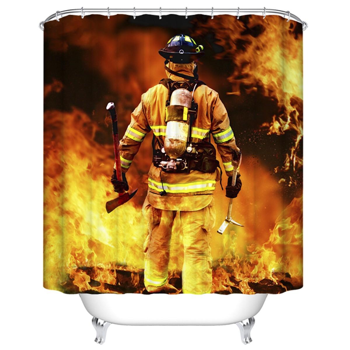 "Bathroom Waterproof Shower Curtain, 70"" W x 72"" H (DK-YT016)"
