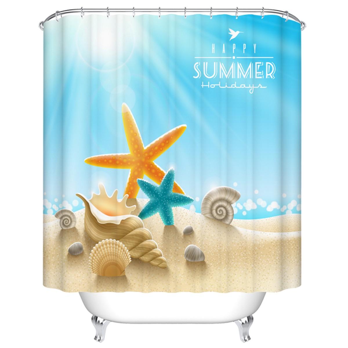 "Bathroom Waterproof Shower Curtain, 70"" W x 72"" H (DK-YT030)"