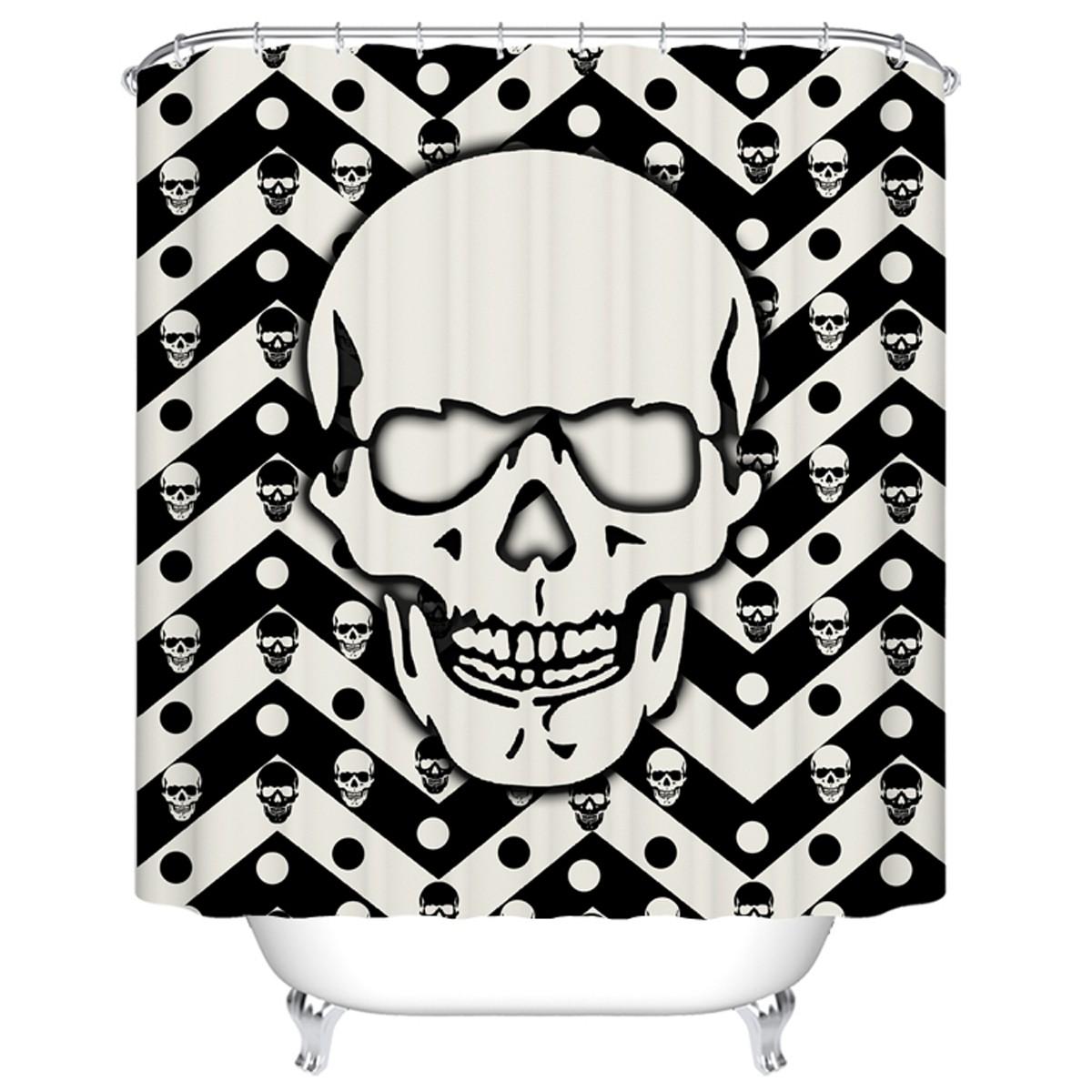 "Bathroom Waterproof Shower Curtain, 70"" W x 72"" H (DK-YT033)"