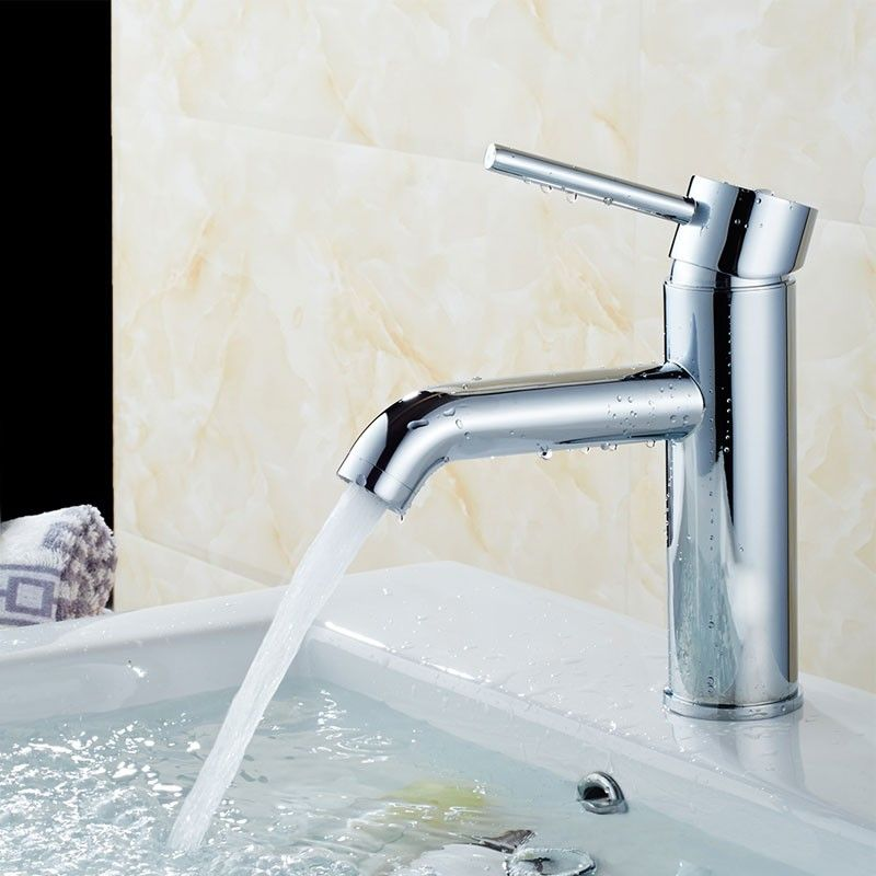 Basin&Sink Faucet - Brass with Chrome Finish (81H13-CHR)