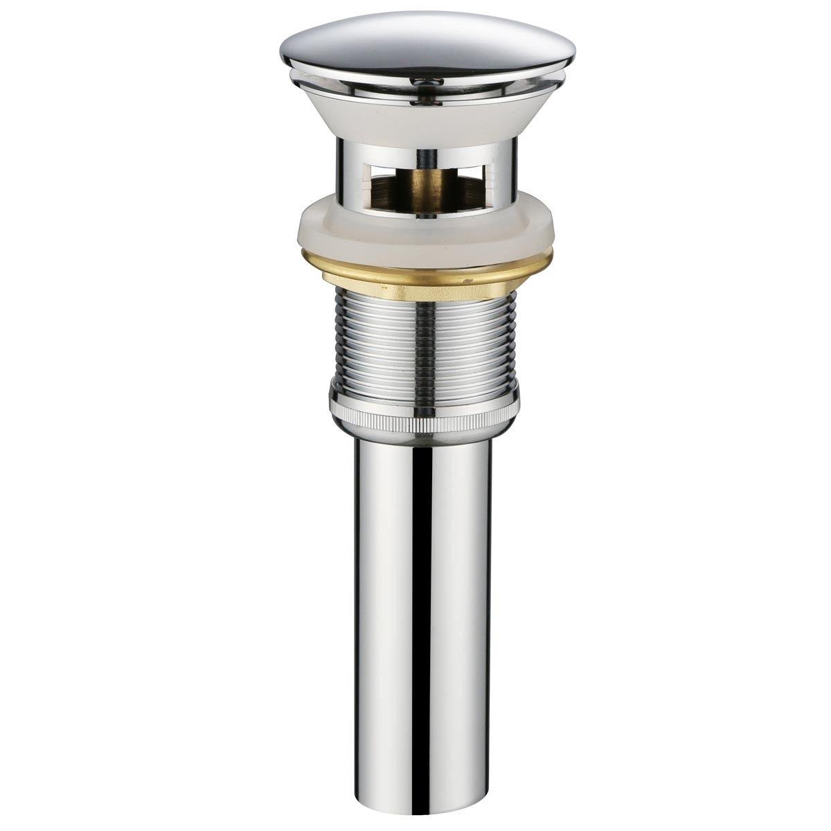 Brass Pop-Up Sink Drain (P317B)