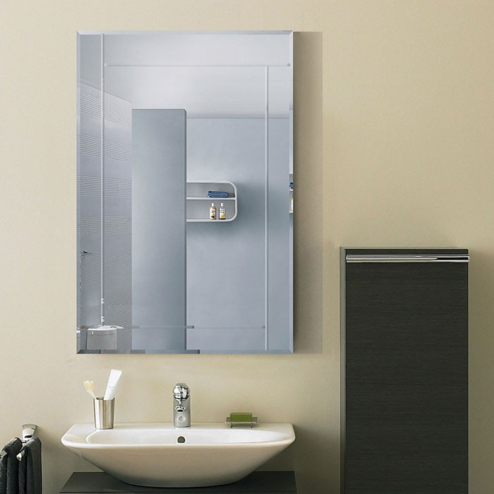 36 x 24 In. Wall-mounted Rectangle Bathroom Mirror (DK-OD-B002A)