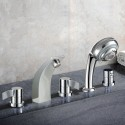 Decoraport Modern Style 5-piece Brass Bathtub Faucet (YDL-2508A)