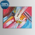 100% Hand Painted Abstract Oil Painting (DK-JX-YH016)