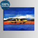100% Hand Painted Abstract Oil Painting (DK-JX-YH025)