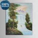 100% Hand Painted Realistic Landscape Oil Painting (DK-JX-YH061)
