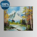100% Hand Painted Abstract Landscape Oil Painting (DK-JX-YH058)
