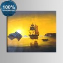 100% Hand Painted Abstract Landscape Oil Painting (DK-JX-YH048)