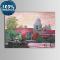 100% Hand Painted Abstract Manor Oil Painting (DK-JX-YH046)
