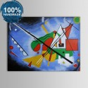 100% Hand Painted Abstract Oil Painting (DK-JX-YH022)