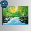100% Hand Painted Realistic Landscape Oil Painting (DK-JX-YH062)