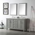 60 In. Bathroom Vanity Set without Mirror (DK-6560-CG)