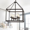 4-Light Modern Iron Pendant Light (DK-RL-8201AB)