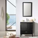 30 In. Freestanding Bathroom Vanity Set with Mirror (DK-5730-B)