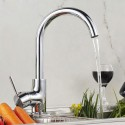 Decoraport Kitchen Faucet - Brass with Chrome Finish (YDL-5310)