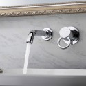 Basin&Sink Faucet - Brass with Chrome Finish (8860)