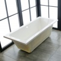 65 In Drop-in Bathtub - Acrylic White (DK-1665-ET)