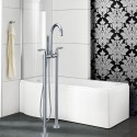 Freestanding Bathtub Faucet - Brass with Chrome Finish (DK-9105)