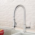Kitchen Faucet - Brushed Brass with Lead Free (DK-YDL-D004BN)