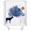 "Bathroom Waterproof Shower Curtain, 70"" W x 72"" H (DK-YT023)"