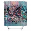 "Bathroom Waterproof Shower Curtain, 70"" W x 72"" H (DK-YT025)"