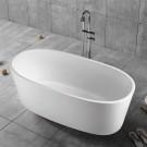 59 In Pure White Acrylic Freestanding Bathtub (DK-PW-16576)