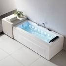 Decoraport HIGH-END  67 x 30 In Whirlpool Tub with Control Panel, Heater, Radio Speaker, Double Waterfall, LED Light (DK-Q351N-L)