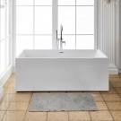 70 In Freestanding Bathtub - Acrylic Pure White (DK-PW-1764)