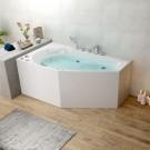 59 In Whirlpool Bathtub - Acrylic White (DK-M12585R-B)