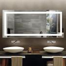 Decoraport 70 x 32 In LED Bathroom Mirror with Infrared Sensor Control, Anti-Fog, Vertical & Horizontal Mount (CG02-7032)