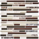 8mm Thickness Electroplated Glass Mosaic Tile - 12 in. x 12 in. (DK-MG4898198R2)