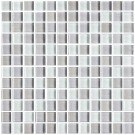 8mm Thickness Electroplated Glass Mosaic Tile - 12 in. x 12 in. (DK-RS2301S1)