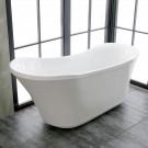71 In Acrylic White Freestanding Bathtub (DK-K57880)