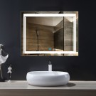 36 x 28 In Horizontal LED Mirror, Touch Button (DK-OD-CK150-L)