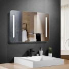 36 x 28 In Horizontal LED Mirror, Touch Button (DK-OD-N027)