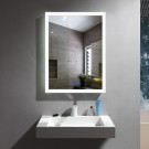 DECORAPORT 20 x 28 Inch LED Bathroom Mirror with Touch Button, Anti Fog, Dimmable, Vertical & Horizontal Mount (NT16-2028)