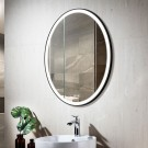 Decoraport 20 x 28 In LED Bathroom Mirror with Touch Button, Anti-Fog, Dimmable, Vertical Mount (D1101-2028)