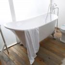 63 In Pure White Clawfoot Freestanding Bathtub (DK-PW-1675W)