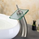 Basin&Sink Waterfall Faucet - Brass in Brushed Nickel (84H07-BN)