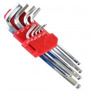 SAE Hex Key Set, 9 Pieces (HW-IN9pcL)