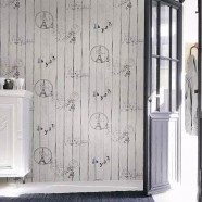 PVC 3D Scenic Pattern Room Wallpaper, 57 sq.ft/Roll (DK-SE451301)