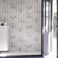 PVC 3D Scenic Pattern Room Wallpaper (DK-SE451301)