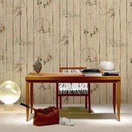 PVC 3D Scenic Pattern Room Wallpaper, 57 sq.ft/Roll (DK-SE451303)