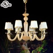 8-Light Glass Built Chandelier/Diameter 30 Inch (HD9330-8)