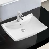 Decoraport Rectangle Ceramic Above Counter Basin (CL-1084)