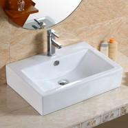 Decoraport Rectangle Ceramic Above Counter Basin (CL-1179)
