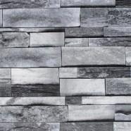 3D Rustic Stonewall Wallpaper  (DK-SE454002)