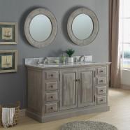 60 In. Freestanding Bathroom Vanity Set (DK-WK9460-SET)