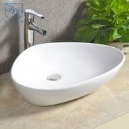 Decoraport Triangular Ceramic Above Counter Basin (CL-1068)